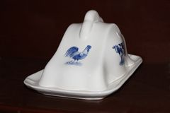 Butter Dish. Royalty Free Stock Images