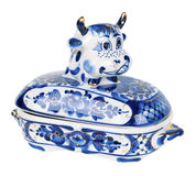 Butter dish Royalty Free Stock Photos