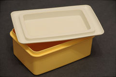 Butter dish Royalty Free Stock Images