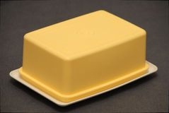 Butter dish Stock Image