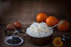 Butter Flour Mix Stock Photography
