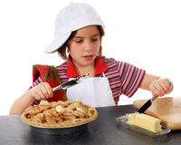 Butter für die Torte Stockfotografie
