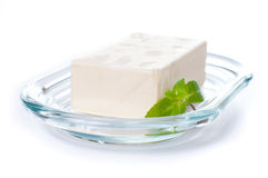 Butter and fresh herbs Stock Photo