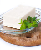 Butter and fresh herbs Royalty Free Stock Image