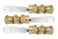 Butter Knives Stock Photo