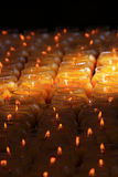 Butter lamps Stock Photo