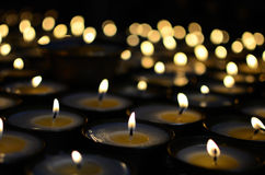 Butter lamps Royalty Free Stock Photography
