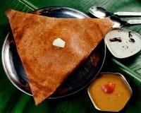Butter masala Dosa. South Indian Butter masala Dosa Stock Image