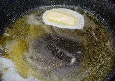 Butter and olive oil Stock Photo