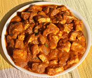 Butter Paneer Masala. / Shahi Paneer or Cheese Cooked with Curry, Indian Dish Royalty Free Stock Image