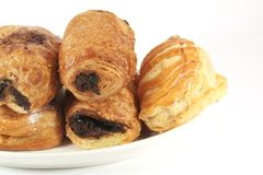 Butter Pastries Variety stock photo