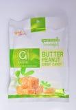 Butter peanut crisp candy good taste Royalty Free Stock Photography