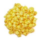 Butter popcorn stock image