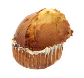 Butter rum muffin Royalty Free Stock Images