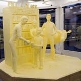 Butter Sculpture at Harrisburg Stock Photos