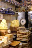 Butter shop. In market, city Tebriz, Iran Royalty Free Stock Images