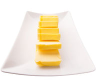 Butter Slices II Royalty Free Stock Photos