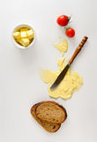 Butter spread or margarine background Royalty Free Stock Image