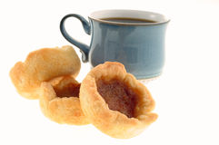 Butter Tarts Stock Photo
