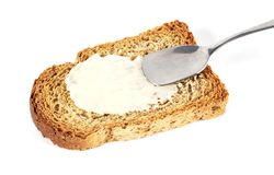 Butter toast Royalty Free Stock Image