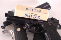 Butter Wins Stock Photography