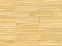 Butter yellow parquet flooring Stock Image