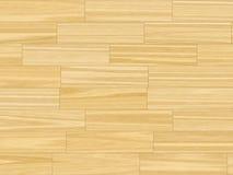 Butter Yellow Parquet Flooring Stock Image