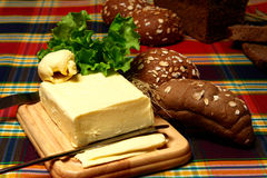 Butteraufbau Lizenzfreie Stockfotos