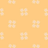 Buttercream colored simple geometric pattern with Stock Photography