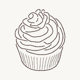 Buttercream Frosting Royalty Free Stock Photos