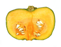 Buttercup Squash Flesh Seeds Royalty Free Stock Photo