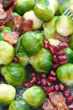 Buttered Brussels Sprouts Stock Images