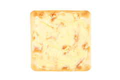 Buttered cheese biscuit Stock Photos