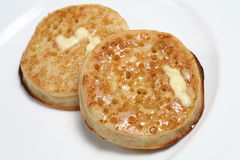 Free Buttered Crumpets Stock Photos - 2718883
