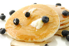 Buttered hotcakes Stock Photo