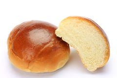 Buttered roll Royalty Free Stock Photos
