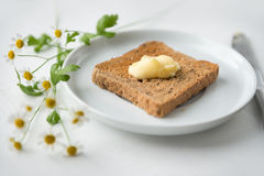 Buttered Toast Stock Photos