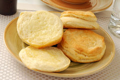 Buttereed biscuits Stock Image