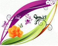 butterfiesförälskelsevektor vektor illustrationer