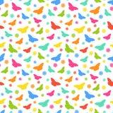 Butterflie pattern Stock Photos