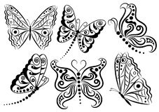 Butterflies. Royalty Free Stock Photo