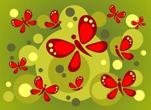 Butterflies background Royalty Free Stock Image
