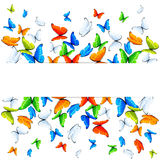 Butterflies background Royalty Free Stock Photography