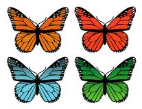 Butterflies design Royalty Free Stock Image