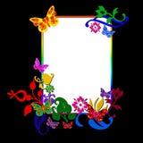 Butterflies Frame Stock Image