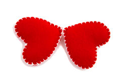Butterflies of Hearts Royalty Free Stock Image