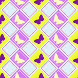 Butterflies pattern Royalty Free Stock Images