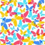 Butterflies pattern Stock Photos