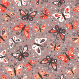 Butterflies pattern. Royalty Free Stock Photo