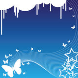 Butterflies and Stars Royalty Free Stock Photography